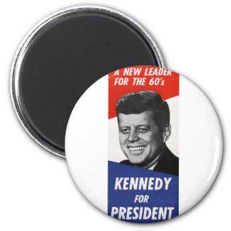 Kennedy 2 Inch Round Magnet
