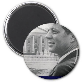 Kennedy - A Time For Greatness 2 Inch Round Magnet