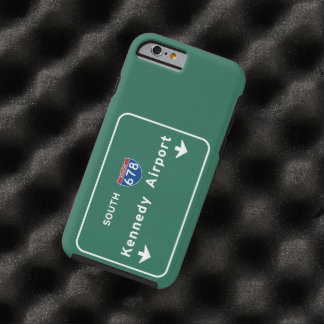 Kennedy Airport JFK I-678 NYC New York City NY Tough iPhone 6 Case