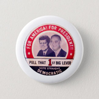 Kennedy and Johnson Campaign Button