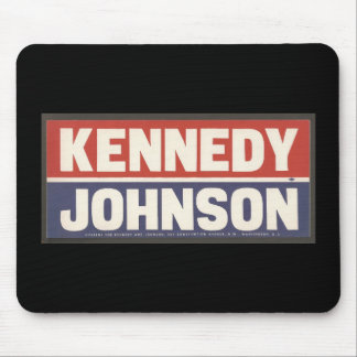 Kennedy and Johnson Mousepad