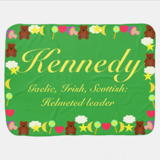 Kennedy Baby Blanket Template