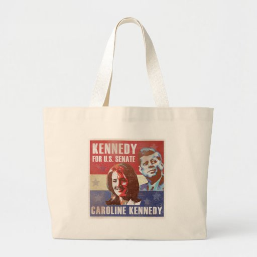 Kennedy Begins Campaign For Senate Bags