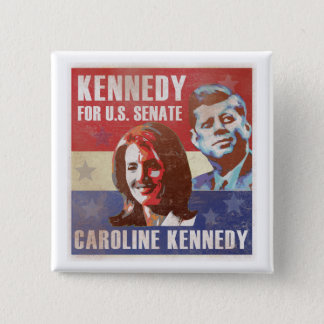 Kennedy Begins Campaign For Senate Button