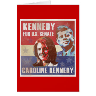 Kennedy Begins Campaign For Senate Card