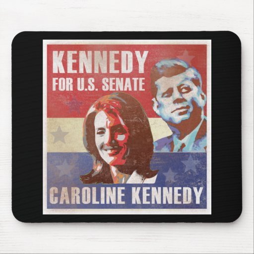 Kennedy Begins Campaign For Senate Mouse Pad