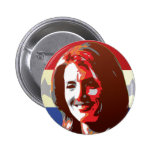 Kennedy Begins Campaign For Senate Pinback Button