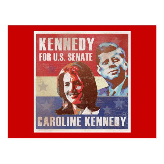 Kennedy Begins Campaign For Senate Postcard