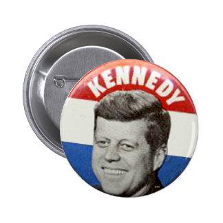 Kennedy - botón pin redondo de 2 pulgadas