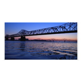 Kennedy Bridge Photocard Personalized Photo Card