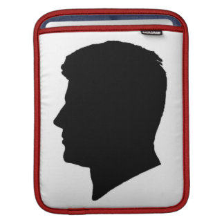 Kennedy Brothers Cameo Silhouettes iPad Sleeves