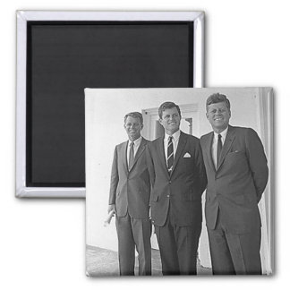 Kennedy Brothers, John, Ted, Robert Magnet
