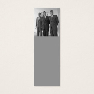 Kennedy Brothers, John, Ted, Robert Mini Business Card
