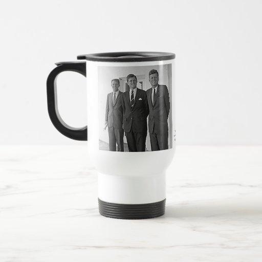 Kennedy Brothers, John, Ted, Robert Mug