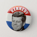 "Kennedy - Button<br><div class=""desc"">Kennedy evokes more feelings of sympathy and affection than almost any other modern American President,  outdrawing all others in memorabilia desirability,  including Republican-anointed Ronald Reagan by an overwhelming margin of popularity.</div>"