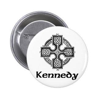 Kennedy Celtic Cross Button