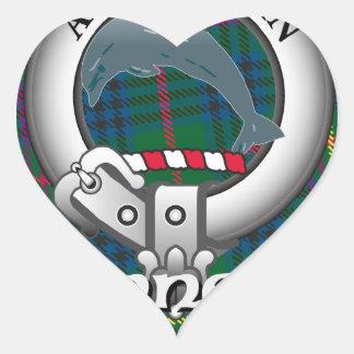 Kennedy Clan Heart Sticker