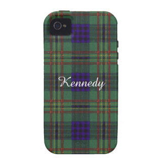 Kennedy clan Plaid Scottish tartan iPhone 4/4S Case