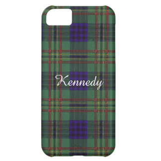 Kennedy clan Plaid Scottish tartan Case For iPhone 5C