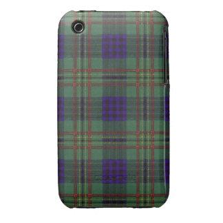 Kennedy clan Plaid Scottish tartan iPhone 3 Case-Mate Cases