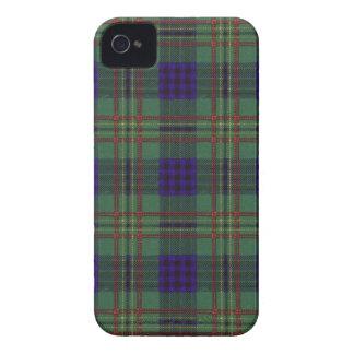 Kennedy clan Plaid Scottish tartan iPhone 4 Case-Mate Case