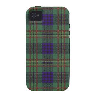 Kennedy clan Plaid Scottish tartan iPhone 4 Case