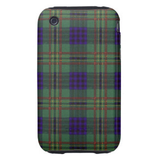 Kennedy clan Plaid Scottish tartan iPhone 3 Tough Cases