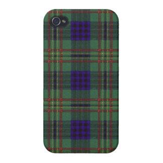 Kennedy clan Plaid Scottish tartan Case For iPhone 4