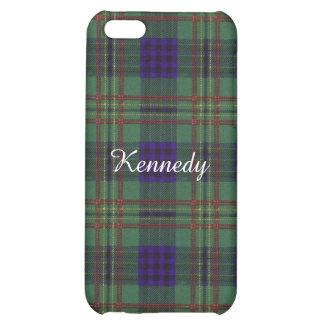 Kennedy clan Plaid Scottish tartan iPhone 5C Cases