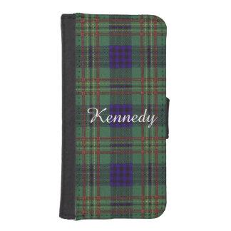 Kennedy clan Plaid Scottish tartan iPhone 5 Wallet