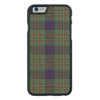 Kennedy clan Plaid Scottish tartan Carved® Maple iPhone 6 Case