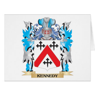 Kennedy- Coat of Arms - Family Crest Large Greeting Card