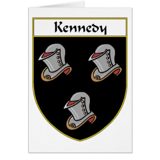 Kennedy Coat of Arms/Family Crest Card