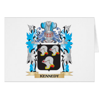 Kennedy Coat of Arms - Family Crest Stationery Note Card