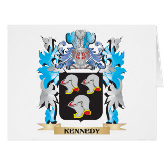 Kennedy Coat of Arms - Family Crest Large Greeting Card