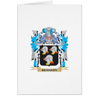 Kennedy Coat of Arms - Family Crest Greeting Card