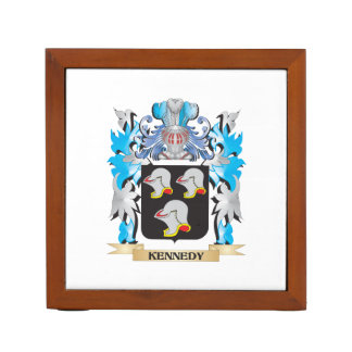 Kennedy Coat of Arms - Family Crest Desk Organizer