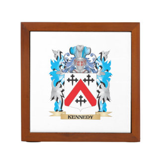 Kennedy- Coat of Arms - Family Crest Pencil Holder