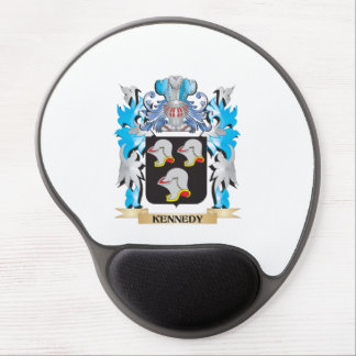 Kennedy Coat of Arms - Family Crest Gel Mouse Pad