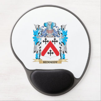 Kennedy- Coat of Arms - Family Crest Gel Mouse Pad