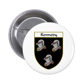 Kennedy Coat of Arms/Family Crest Pinback Button