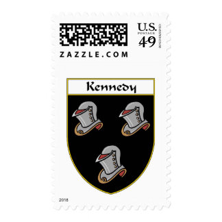 Kennedy Coat of Arms/Family Crest Stamp