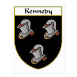 Kennedy Coat of Arms/Family Crest Postcard