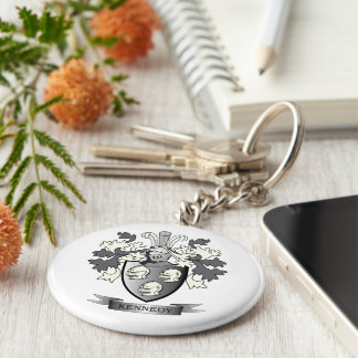Kennedy Coat of Arms Keychain