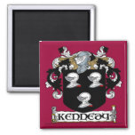 Kennedy Coat of Arms Magnet