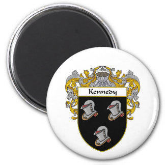 Kennedy Coat of Arms (Mantled) Magnet
