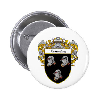 Kennedy Coat of Arms (Mantled) Pinback Button
