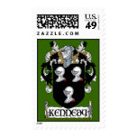 Kennedy Coat of Arms Postage Stamps