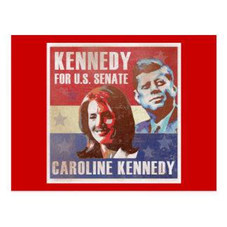 Kennedy comienza la campaña para el senado postales