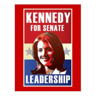 Kennedy comienza la campaña para el senado postal